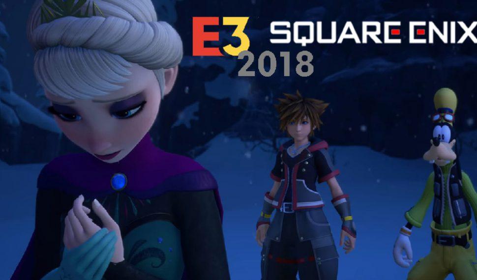 [E3 2018] Sigue con nosotros en directo la conferencia de SQUARE ENIX