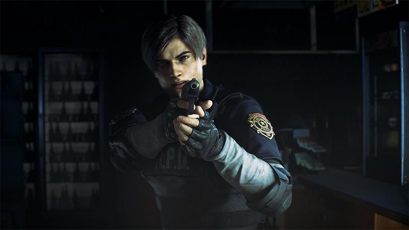 gameplay resident evil 2