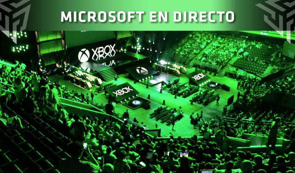 [E3 2018] Sigue con nosotros en DIRECTO la conferencia de MICROSOFT