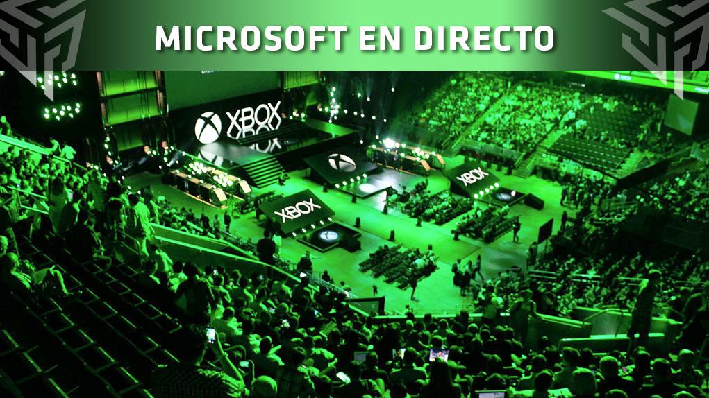 directo conferencia microsoft e3 2018