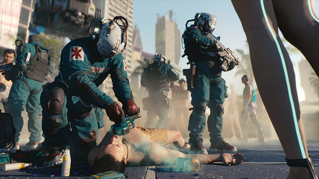 cyberpunk 2077 primera persona