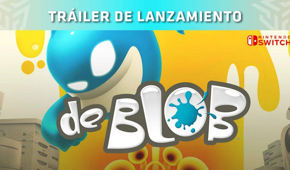 La remasterización de 'de Blob' llega a Nintendo Switch el 26 de junio