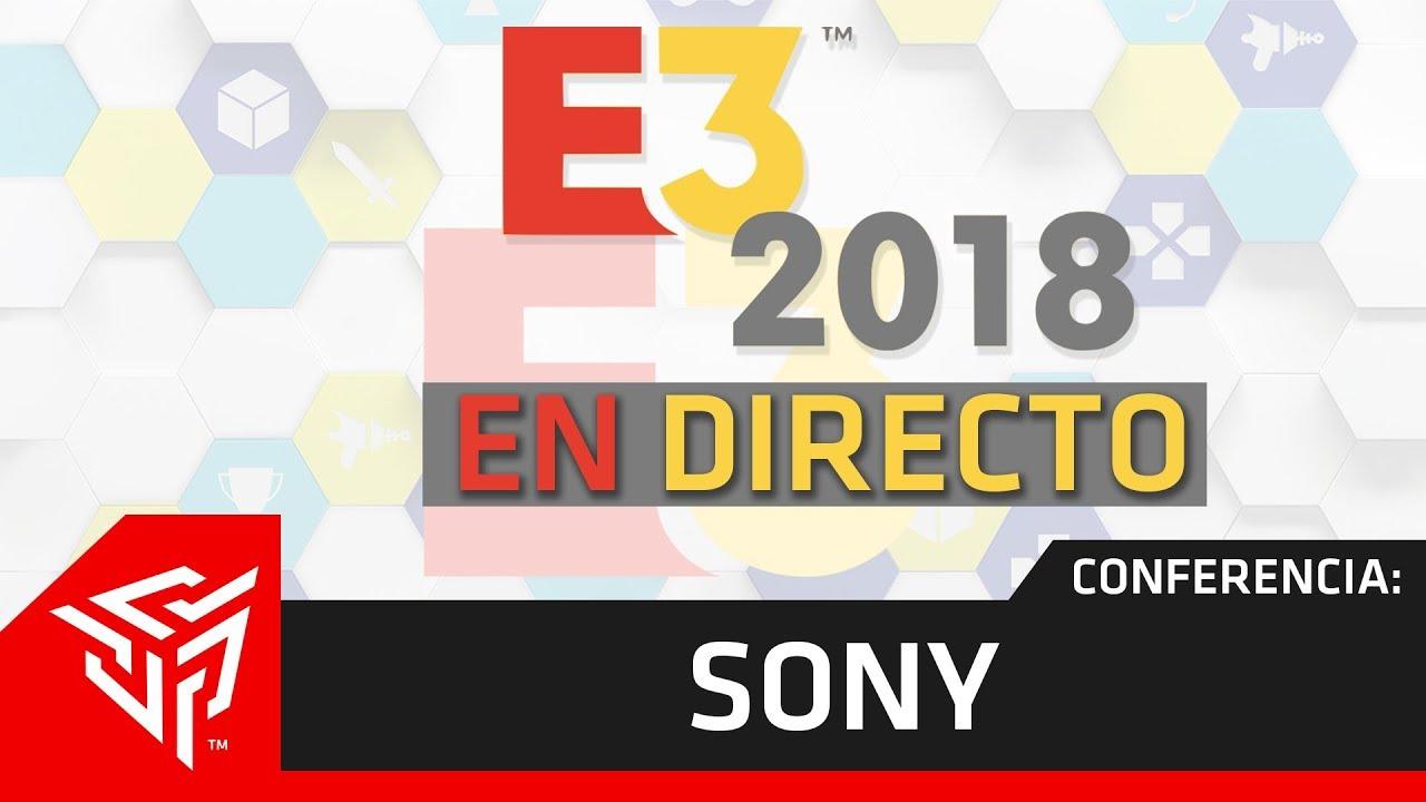 resumen conferencia sony e3 2018