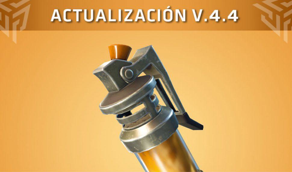 Fortnite recibe la actualización 4.4: Bomba Fétida, Demoledor de 8 bits…