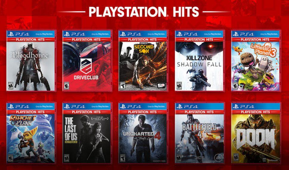 Sony anuncia los PlayStation Hits: Los mejores juegos de Playstation 4 al mejor precio