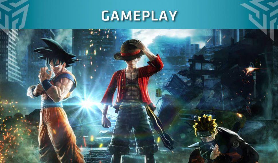 Jump Force muestra su primer gameplay