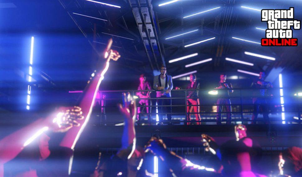 Los clubs nocturnos llegan a Grand Theft Auto Online