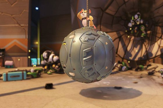¡Overwatch presenta un nuevo y adorable héroe: Wrecking Ball!
