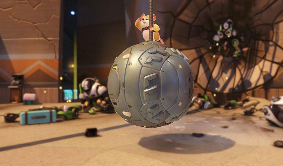 ¡Overwatch presenta un nuevo y adorable héroe: Wrecking Ball!