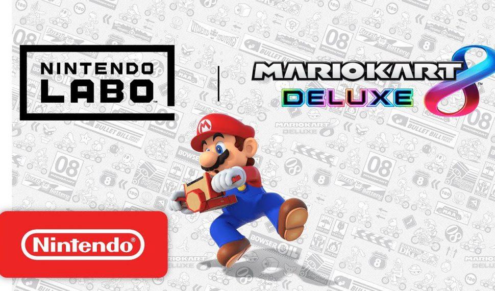 ¡Mario Kart 8 Deluxe ya es compatible con Nintendo Labo!