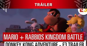 Mario Rabbids Kingdom Battle Donkey Kong Adventure trailer