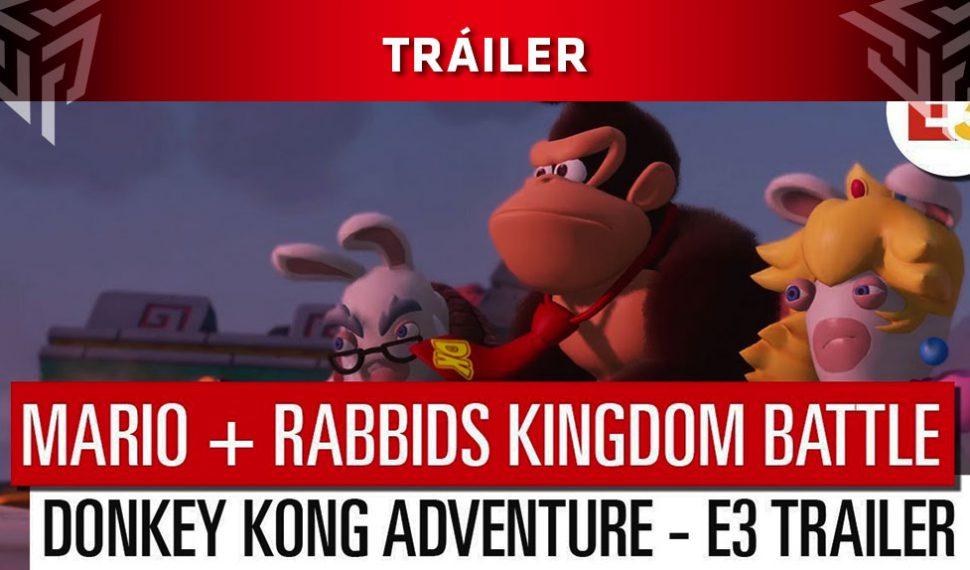[E3 2018] Ubisoft anuncia Mario + Rabbids Kingdom Battle Donkey Kong Adventure con nuevo tráiler