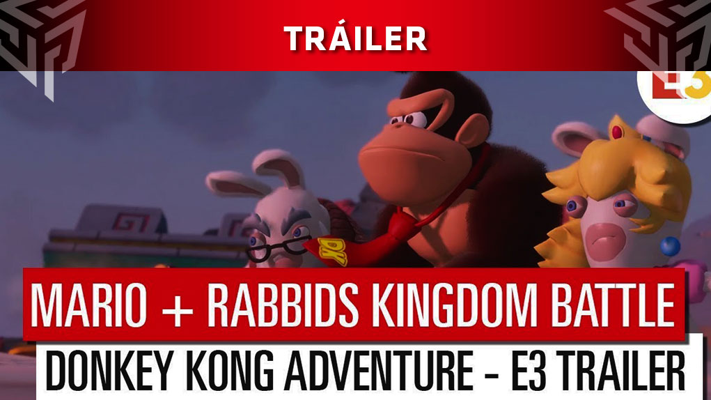 Mario Rabbids Kingdom Battle Donkey Kong Adventure trailer