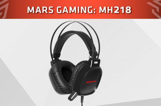 Mars Gaming presenta los MH218 sus nuevos auriculares gaming
