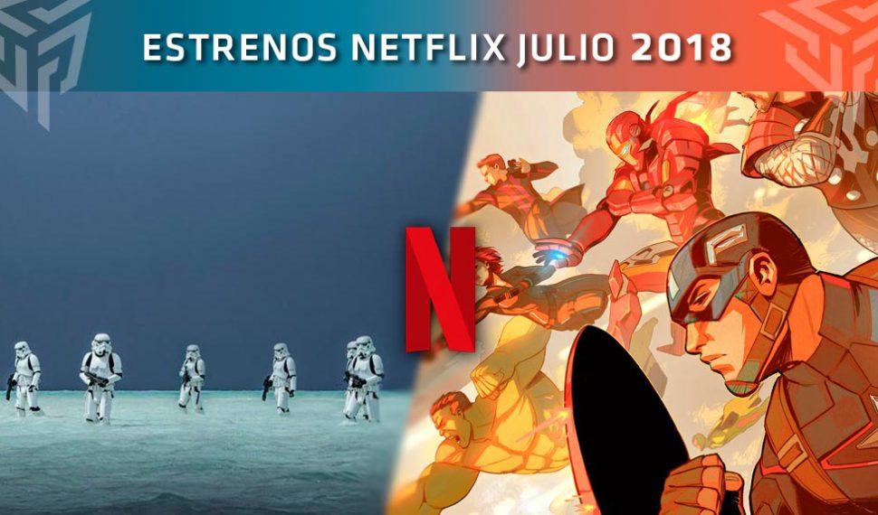 Estas son todas las novedades de Netflix que llegarán en Julio