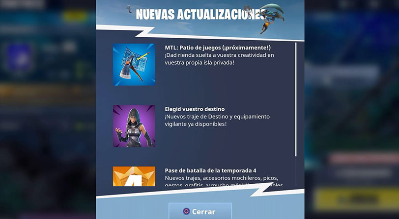 patio juegos fortnite