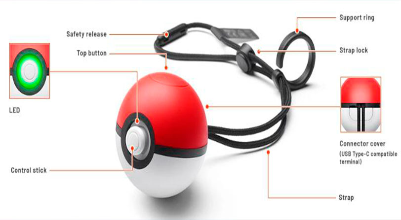 Pokeball plus características