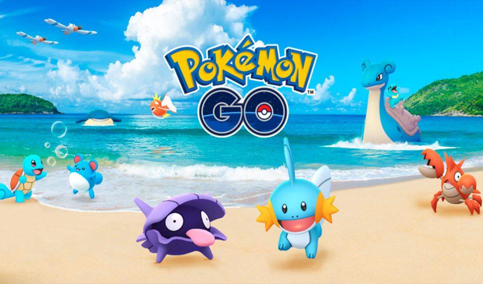 ¡Llega el Festival Acuático 2018 a Pokémon Go!
