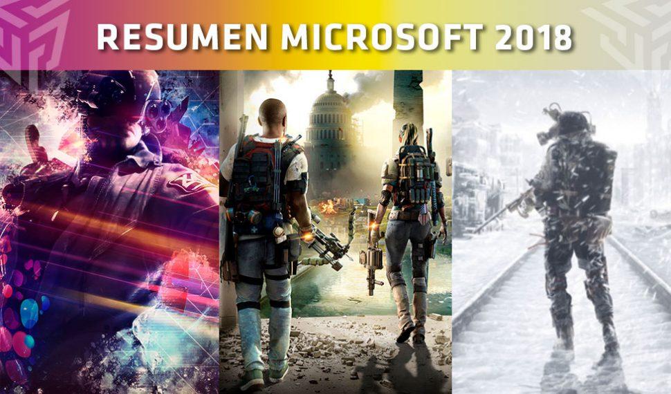 [E3 2018] Resumen de la conferencia de Microsoft