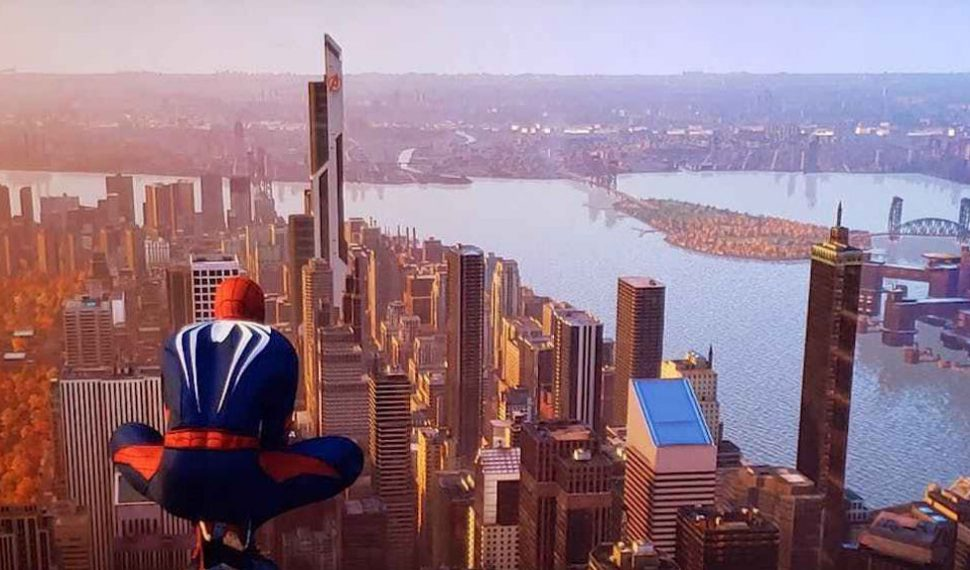 Spider-man muestra nuevas imágenes de su mapa y la Torre de los Vengadores