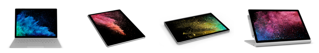 impresiones surface book 2