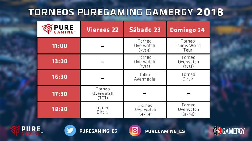 torneos gamergy puregaming