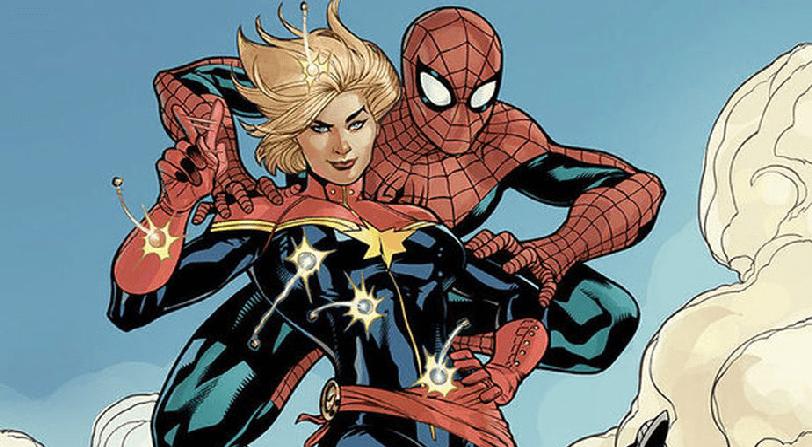 Vuelta Personaje Capitana Marvel