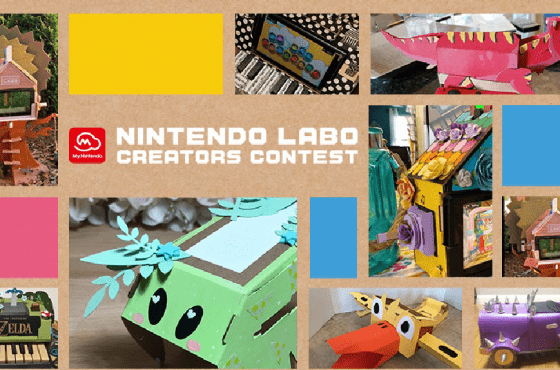 Esto es Nintendo Labo Creators Contest, el concurso europeo de creaciones de Nintendo Labo