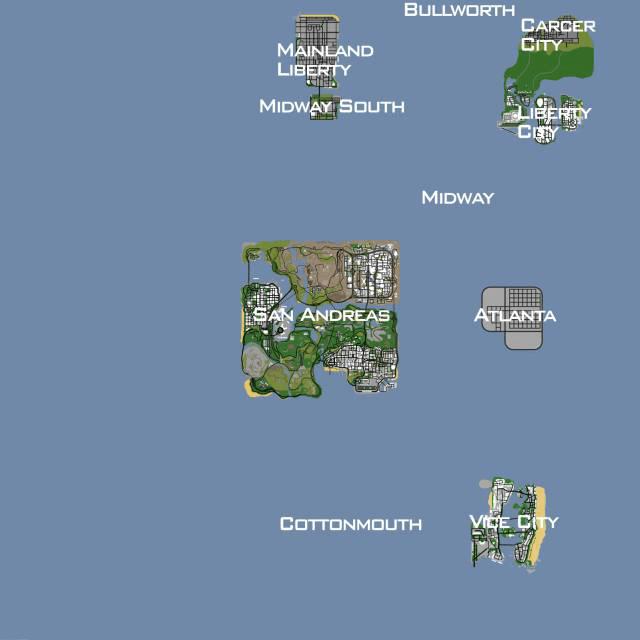 Mod Nuevas Ciudades GTA San Andreas