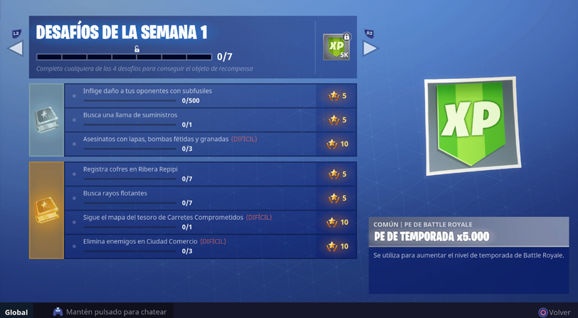 Temporada 5 de Fortnite