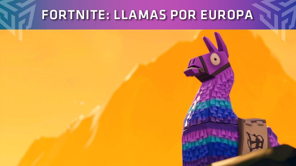 Fortnite Llamas por Europa