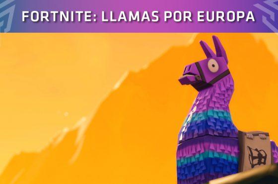 Fortnite: ¡Están apareciendo Llamas por toda Europa!