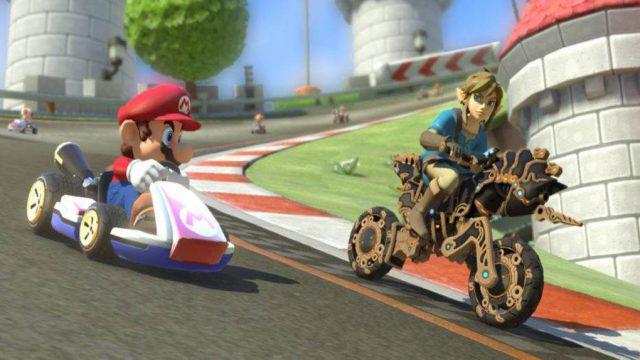Actualizacion Mario Kart 8 Deluxe