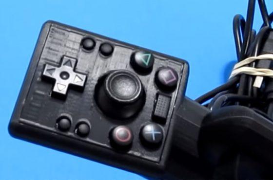 Un usuario desarrolla un mando de PlayStation 4 que puede utilizarse con una sola mano
