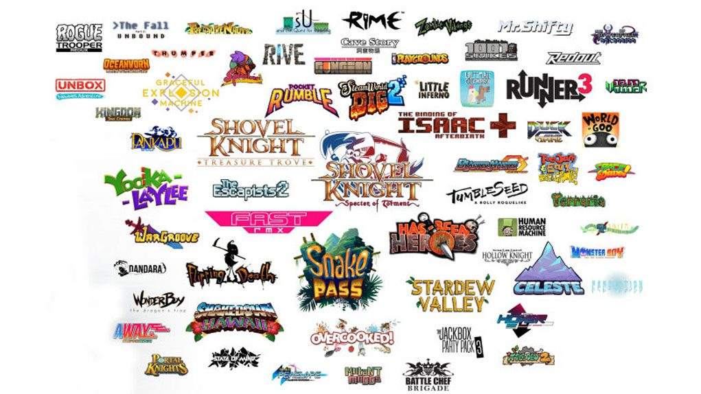 Nintendo Switch Indies Cantidad