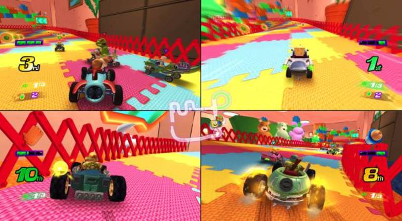 Fecha Nickelodeon Kart Racers