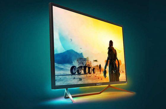 """Philips estrena su línea de monitores gaming """"Momentum"""""""