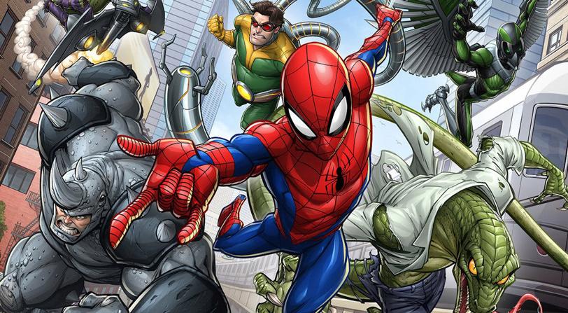 Comparativa Grafica Spider Man