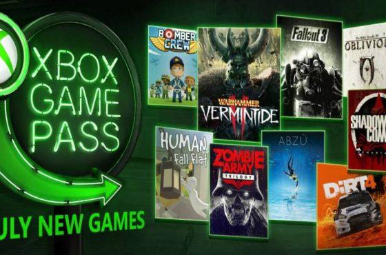 Estos son los juegos de julio para Xbox Game Pass
