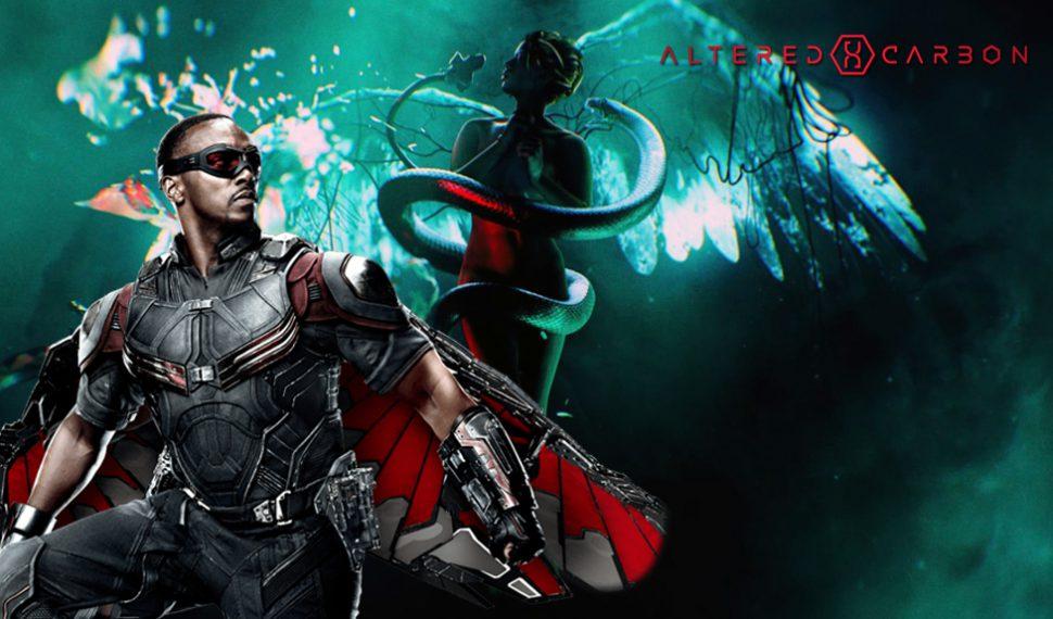 Netflix renueva la serie Altered Carbon y apuesta por Anthony Mackie como protagonista