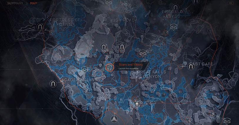 tamaño mapa anthem
