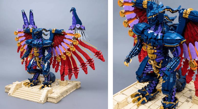 Figura Lego Bahamut Final Fantasy