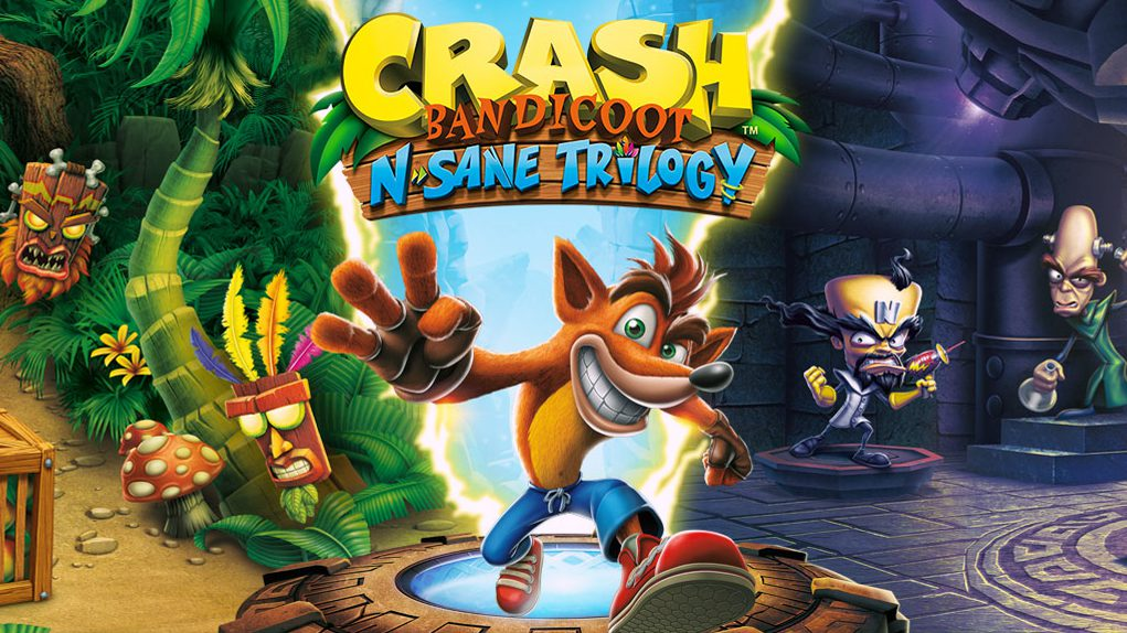 Crash Bandicoot reino unido