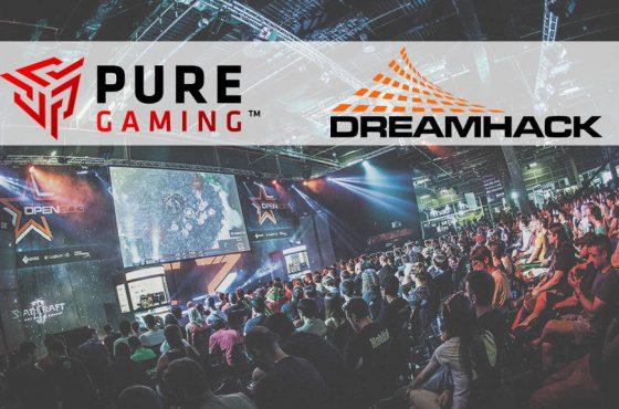 PureGaming también estará en la Dreamhack de Valencia