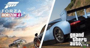 trailer de Forza Horizon 4 en Grand Theft Auto V