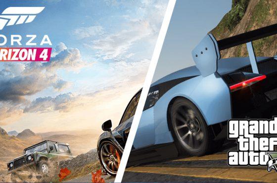 Unos fans recrean el trailer de Forza Horizon 4 en Grand Theft Auto V