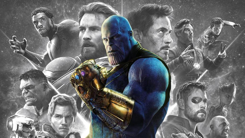 Infinity War Blu-Ray