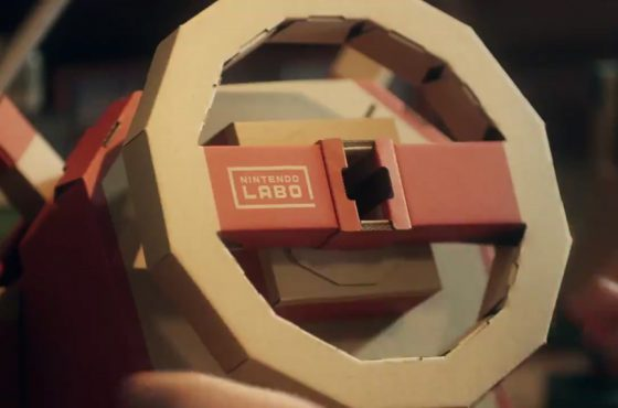 ¡Nintendo Labo nos trae el taller y la creación de vehículos!