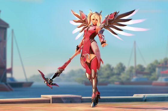 La Mercy Rosa de Overwatch recauda más de 12 millones de dólares