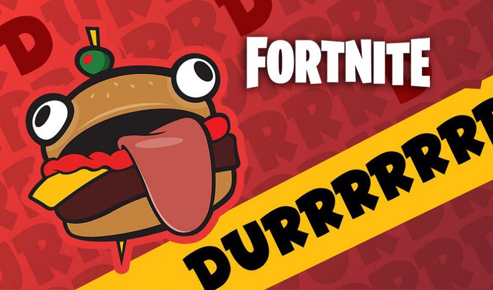 La icónica hamburguesa de Fortnite aparece en un desierto de California